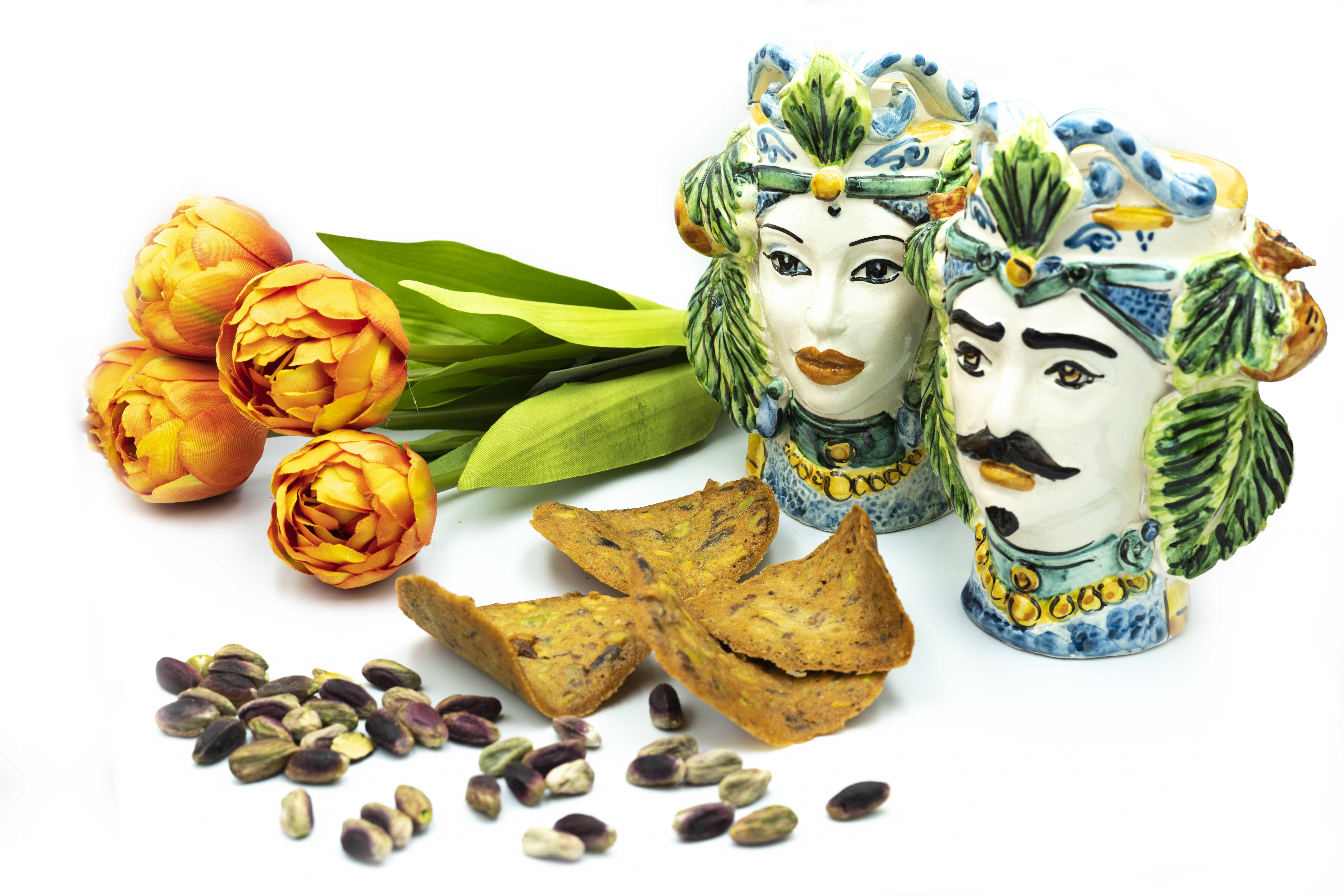 voglie di thè al pistacchio e ceramiche